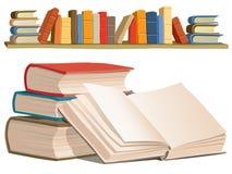Ramassage de livres Image libre de droits