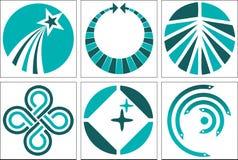 Ramassage de logo illustration stock