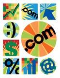 Ramassage de logos d'affaires Illustration de Vecteur
