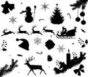 Ramassage de Noël. Image libre de droits