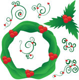 Ramassage de Noël Images libres de droits