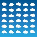 Ramassage de nuages de vecteur Photographie stock