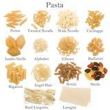 Ramassage de pâtes Photo stock