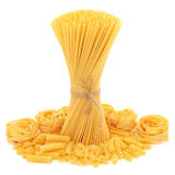 Ramassage de pâtes Image libre de droits