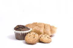 Ramassage de pâtisserie douce Photos stock