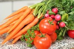 Ramassage de rouge de légumes Photo stock