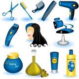 Ramassage de soin de cheveu Image stock