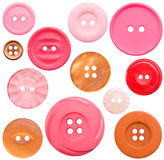 Ramassage du bouton Haut-Recherche - 12 rouges, d'isolement Photos libres de droits