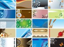 Ramassage pour des cartes de visite professionnelle de visite Image stock