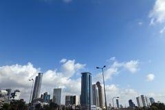 De Horizon van de binnenstad royalty-vrije stock foto