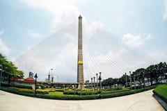 RamaVII桥梁 免版税图库摄影
