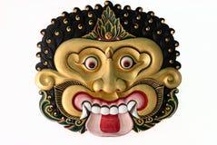 Ramayana舞蹈面具 免版税库存图片