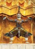 ramayana雕塑 库存图片