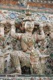 Ramayana雕象 免版税库存照片