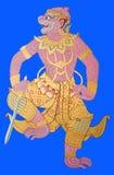 ramayana Ταϊλανδός στοκ φωτογραφία