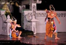 ramayana представления танцульки Стоковые Изображения RF
