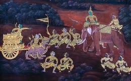Ramayana Fotografie Stock Libere da Diritti