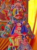 Ramayana bóg Hinduska statua w Namchi mieście, Sikkim stan w India, zdjęcie stock