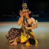 Ramayana balett Purawisata Arkivbild