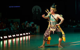 Ramayana balett Purawisata Royaltyfri Bild