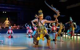 Ramayana balett Purawisata Arkivfoton