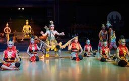 Ramayana balett Purawisata Royaltyfri Foto