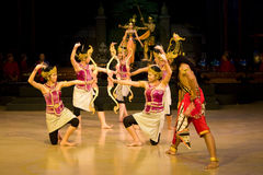 Ramayana Ballet Royalty Free Stock Photo