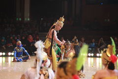 Ramayana Ballet Royalty Free Stock Photography