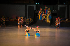 Ramayana Ballet at at Prambanan, Indonesia Royalty Free Stock Images