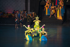 Ramayana Ballet at at Prambanan, Indonesia Stock Image