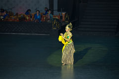 Ramayana Ballet at at Prambanan, Indonesia Stock Images