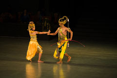 Ramayana Ballet at at Prambanan, Indonesia Royalty Free Stock Photo