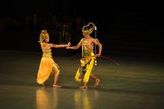 Ramayana Ballet at at Prambanan, Indonesia Royalty Free Stock Photo