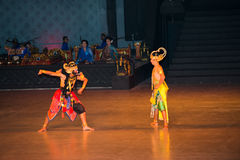 Ramayana Ballet at at Prambanan, Indonesia Royalty Free Stock Photos