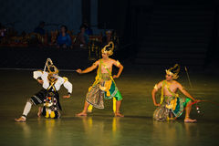 Ramayana Ballet at at Prambanan, Indonesia Royalty Free Stock Photography