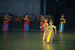 Ramayana Ballet at at Prambanan, Indonesia Stock Photo