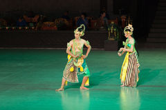 Ramayana Ballet at at Prambanan, Indonesia Stock Photography