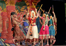 Ramayana dance ballet Stock Image