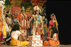 Ramayana dance ballet Stock Photo