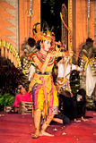Ramayana dance by the Bina Remaja Troupe Royalty Free Stock Image