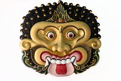 Ramayana Dance Mask Royalty Free Stock Image