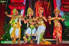 Ramayana Dance. Royalty Free Stock Photo