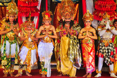 Ramayana Dance. Stock Photo