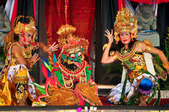 Ramayana Dance. Royalty Free Stock Photography