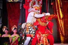 Ramayana Dance. Stock Photos