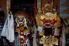 Ramayana Dance in Ubud, Bali, Indonesia stock images
