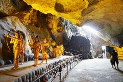 Ramayana grotta arkivbilder