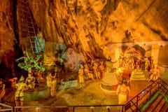 Ramayana grotta på batugrottor i Kuala Lumpur, Malaysia, Asien Fotografering för Bildbyråer