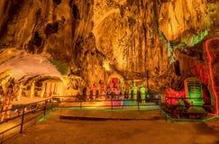 Ramayana grotta på batugrottor i Kuala Lumpur, Malaysia, Asien Royaltyfria Bilder