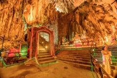 Ramayana grotta på batugrottor i Kuala Lumpur, Malaysia, Asien Arkivbilder